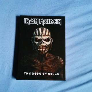 Iron Maiden - The Book Of Souls Special Edition CD Art Book