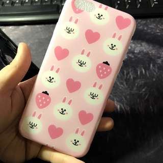Pink LINE FRIENDS CONY iPhone 6 / 6s Soft Case