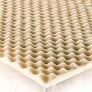 King Convoluted Foam Mattress Topper