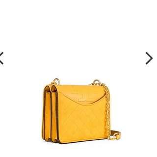 Tory Burch Alexa Suede Leather Handbag