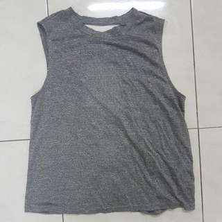 Zalora Sports Criss Cross Tank Top