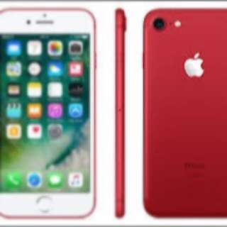 IPHONE 7+ RED 256 GB