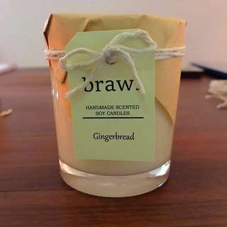 Gingerbread Handmade Scented Candle