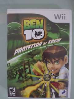 (Wii) Ben 10: Protector of Earth