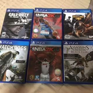 Bundle PS4 Games