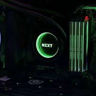Nzxt Kraken X52 With Aer RGB fans