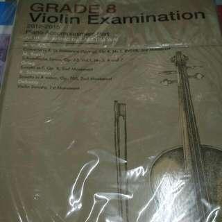 Grade 8 Violin Exam 2012-2015