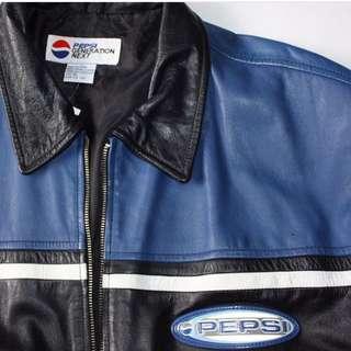 Vintage Pepsi Leather Jacket