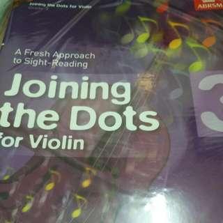 Violin Sight Reading Joining The Dots 3 小提琴視奏教材