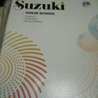 Suzuki VioLin 2 With Cd