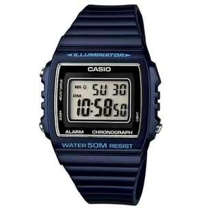 Casio Unisex Blue Resin Strap Watch
