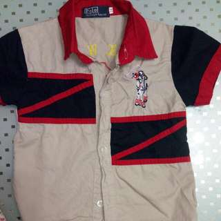Polo Shirt For 2 Yrs Old Boy