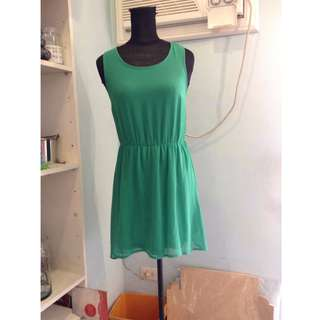 Green Dress Size S (Divided by H&M) Size 6