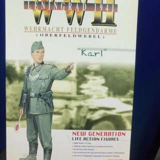 1/6 Dragon DML Action Figure. WWII German. KARL Military Police. $70