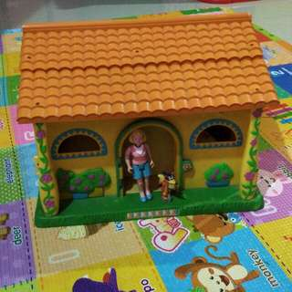 Rumah2an Dora,Bs Bunyi & Tingkat. Seru Buat Mainan Anak2. Ngga Ada Di Indo Jenis Rumah2an Ini