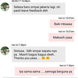 Testimoni .....Thank You Ya Sist.....