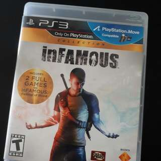 PS3 InFamous 2 Full Games