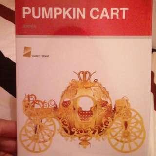 3D Metal Puzzle Pumpkin Cart 南瓜車