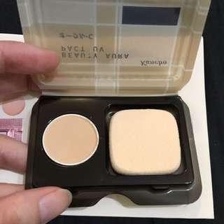 kanebo試用組-光透色粉餅UV0.5g、恆亮持久飾底乳、恆亮保濕飾底乳