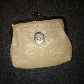 Tory Burch Nude Coin Purse