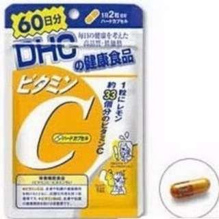 日本製 DHC 維他命c 60日 /120粒 日本帶回