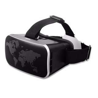3D VR Glasses 3D VR Headset Virtual Reality Adjustable Lens and Strap