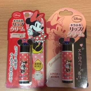 *日本帶回*迪士尼米妮護唇膏