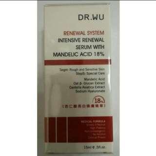 Dr.Wu 杏仁酸 18% 30ml