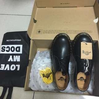 Dr Martens 1461 馬丁短靴 皮鞋 三孔 經典色黑色