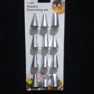 Piping tips (12pcs)