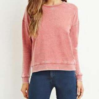 Forever 21 Seamed Fleece Knit