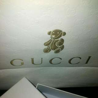 Gucci Baby Paper Bag Box Sold Reduced Price Now