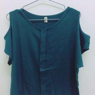 💕整套💕半價出售‼墨綠色兩件式套裝 #百元全新女裝
