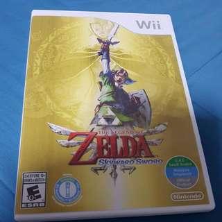 Wii Game Zelda Skyward sword