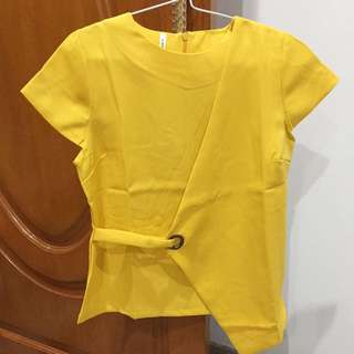 Yellow Sling Top