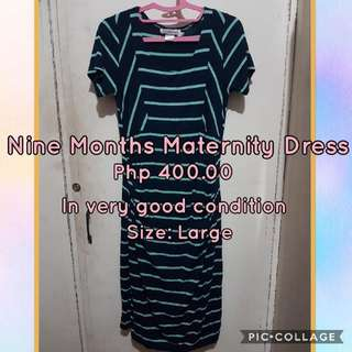 🔴REPRICED: Nine Months Maternity Dress