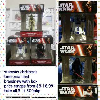 Starwars Chirstmas Tree Ornament