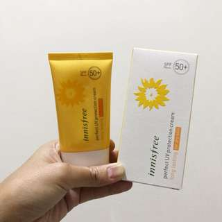 Innisfree Sunscreen Perfect UV Protection Cream for Dry Skin