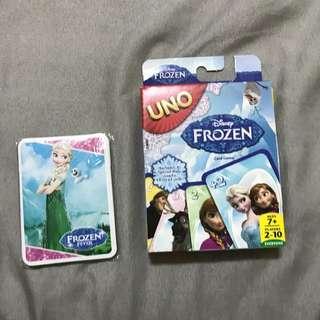 冰雪奇緣UNO卡片
