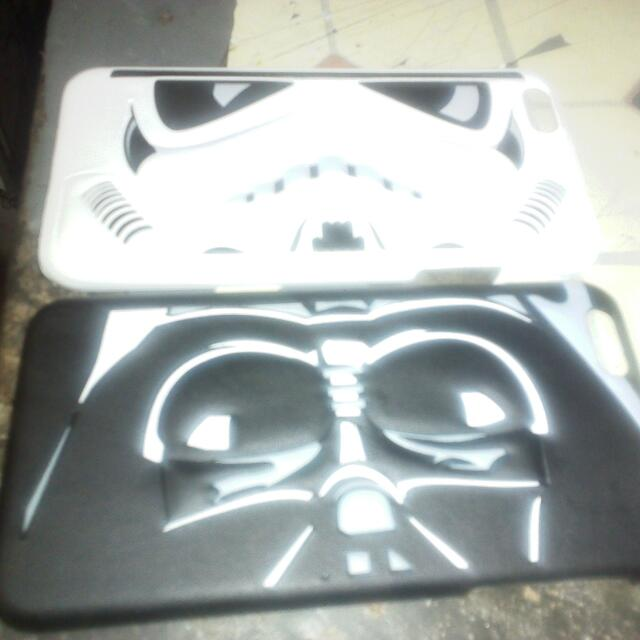 2 Pieces Star Wars Hard Case For Iphone 6
