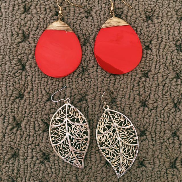 2x Earing Pairs