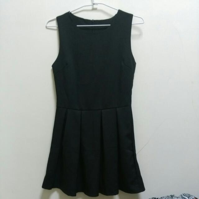 簡約氣質無袖小洋裝