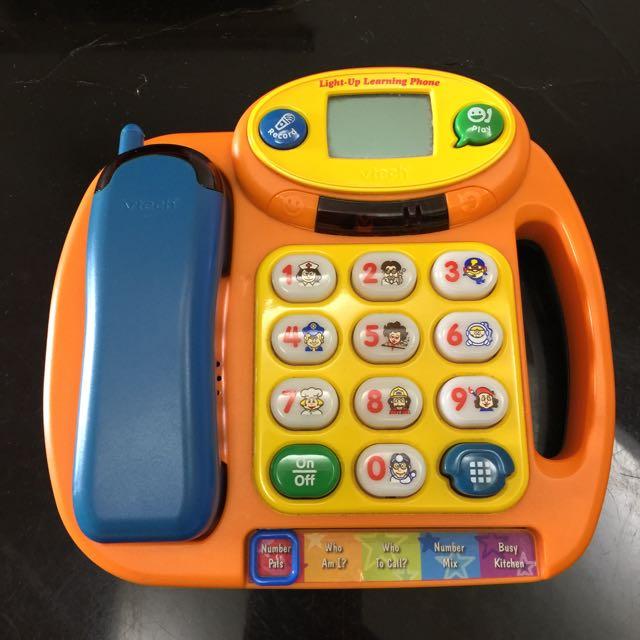 V-tech歡樂寶寶學習電話