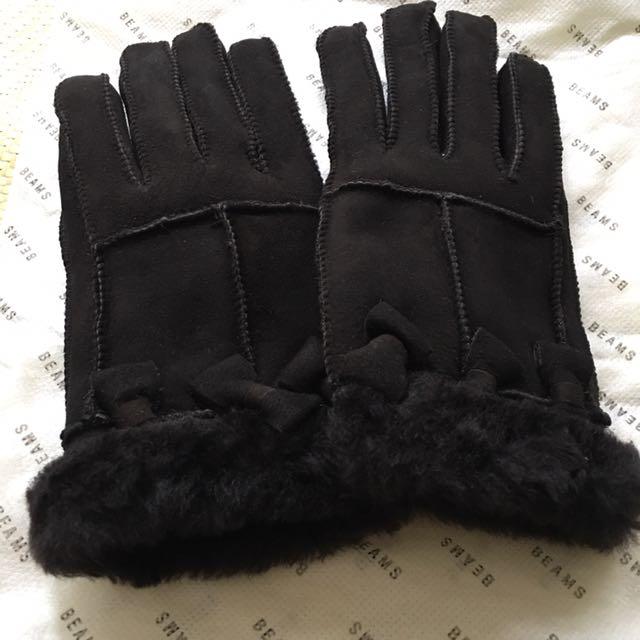 羊毛 手套(日本購入)
