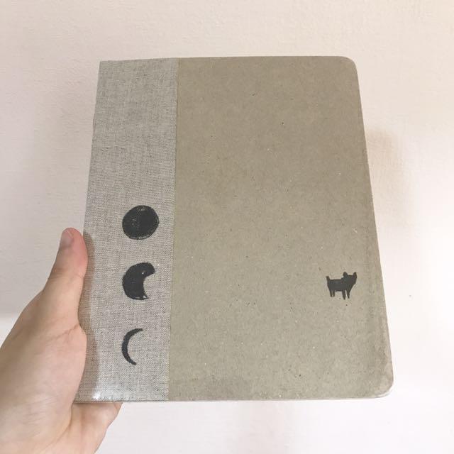 全新 實心美術筆記本