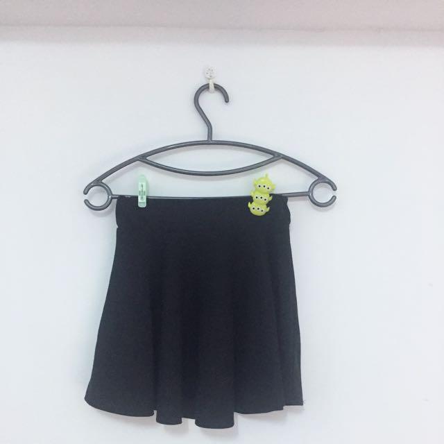 黑色小圓裙 裙子