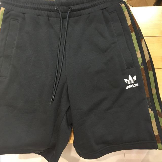 三葉愛迪達棉褲 Adidas