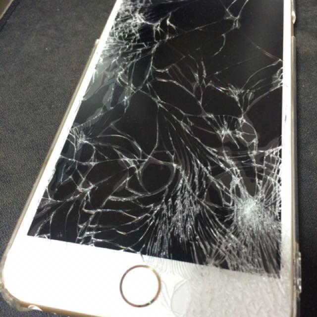 收購 iPhone 6 6s plus 螢幕故障 螢幕破裂