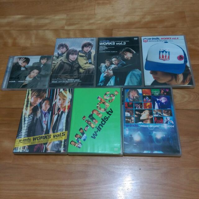 w-inds. DVD 台版