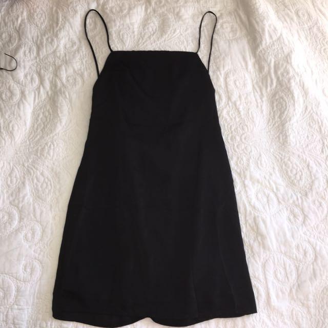 Mini Satin Dress - Meshki